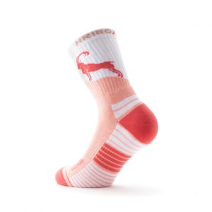 Pohodne nogavice Kozorog roza