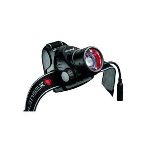 Ledlenser H14R2 naglavna polnilna svetilka, črna rdeča2
