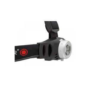 Ledlenser H6R naglavna polnilna svetilka - črna rdeča1