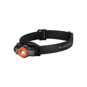 Ledlenser MH3 naglavna baterijska svetilka - črna oranžna