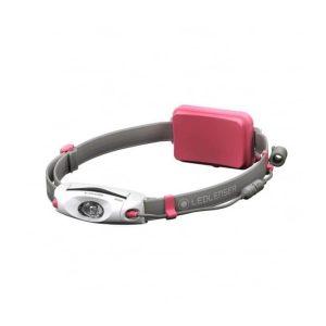 Ledlenser NEO6R naglavna polnilna svetilka - roza