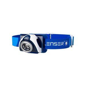 Ledlenser SEO3 naglavna baterijska svetilka - modra