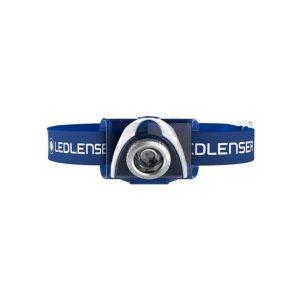 Ledlenser SEO3 naglavna baterijska svetilka - modra1
