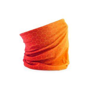 Multifunkcijski šal mreža - oranžen