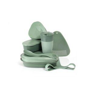 LMF MealKit BIO, Sandygreen Zelena, Komplet za obrok