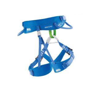 Petzl otroški plezalni pas Macchu - moder