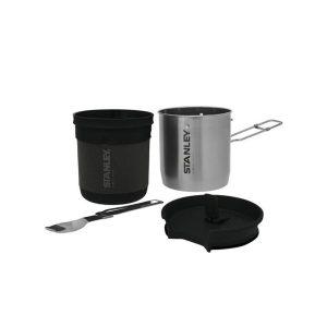 Stanley Kompakten set za kuhanje + Spork, Stainless Steel Siva1