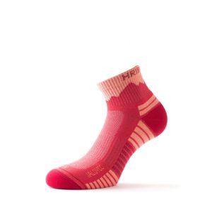 Nizke pohodne nogavice Jalovec - coral