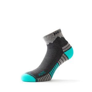 Nizke pohodne nogavice Jalovec - turkizne