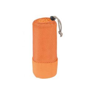 Športna brisača mikrofibra Freshness - oranžna